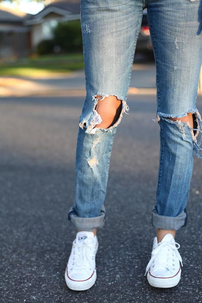 knee cut 2